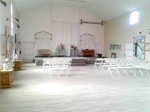Stage for Weddings
