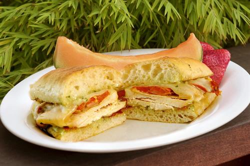 Tuscan Chicken Sandwich