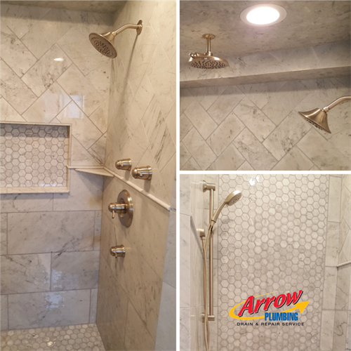 Shower Design and Install.