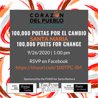 100 Mil Poetas Por El Cambio / 100 Thousand Poets for Change: Santa Maria