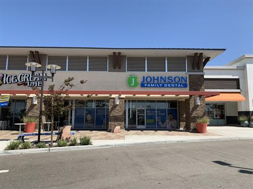 Johnson Family Dental Santa Maria store front