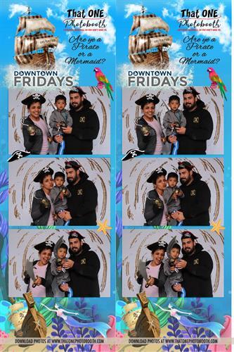 Pirates or Mermaids Theme 2019 at Downtown Fridays in Santa Maria