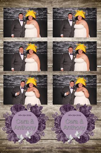 Rustic Wedding with Purple and Doves Theme