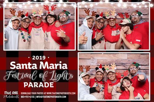 Santa Maria Festival of Lights Parade 2019