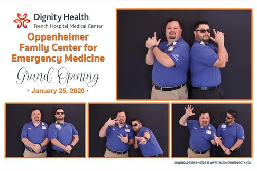 Dignity Health French Hospital Oppenheimer Family Center for Emergency Health Grand Opening