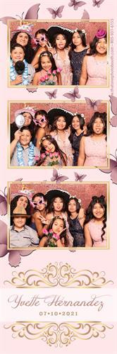 Quinceañera Pink and Butterflies Theme