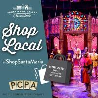 #ShopSantaMaria with PCPA Theatre!