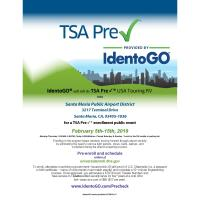 Save the Date: TSA Pre Check Mobile Enrollment Event