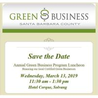 Green Business Program to Recognize Newly Certified Green Businesses in Santa Barbara County