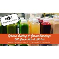 Ribbon Cutting & Grand Opening ~ 805 Juice Bar & Bistro