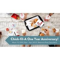 Celebrating Chick-fil-A Enos Ranch One Year Anniversary!