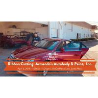 Come out and celebrate Armando's Armando's Autobody & Paint, Inc. with a Ribbon Cutting and BBQ