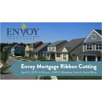 Celebrate the new Santa Maria Envoy Mortgage Branch with a ribbon cutting!