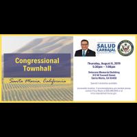 Congressional Townhall - Santa Maria