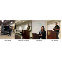 Leadership Class Examines Law Enforcement and Fire in Santa Maria during Public Safety Topic Day