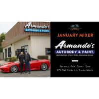 January Mixer with Armando's Autobody & Paint!