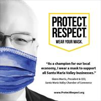 Chamber Encourages Community to Protect. Respect. Wear Your Mask.