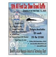 18th All Ford Car Show Grand Raffle