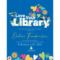 Santa Maria Public Library Foundation: Love Your Library Fundraiser Invitation