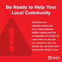 Red Cross volunteer recruitment