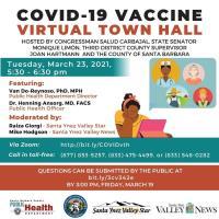 Santa Barbara County COVID-19 Vaccination Virtual Town Hall