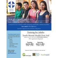 Family Service Agency: Training for Adults - Youth Mental Health First Aid