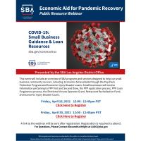 SBA: Economic Aid for Pandemic Recovery Public Resource Webinar