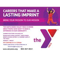 Santa Maria Valley YMCA Is Hiring!
