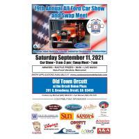 19th Annual Santa Maria A's All Ford Car Show and Swap Meet