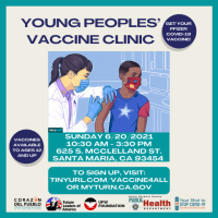 Youth Vaccine Clinic in Santa Maria on 6/20