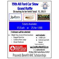 19th All Ford Car Show Grand Raffle