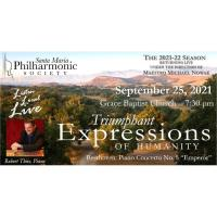 Santa Maria Philharmonic - First Live Orchestra Concert of the year featuring Pianist Robert Thies