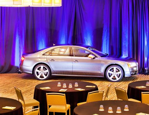 Car in Rivanna Ballroom