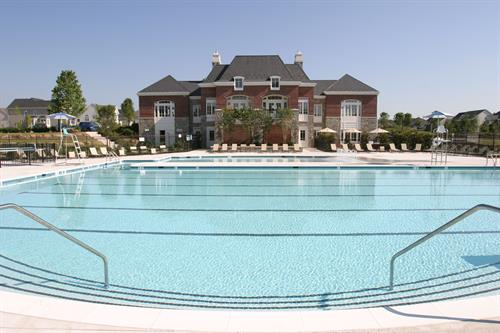 Cool off on a hot summer day at one of 4 community pools.