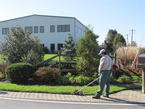 Property maintenance - edging.