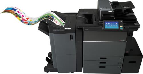Toshiba MFP with Banner Printing Capabilities