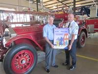 Temple teams up with Ruston Fire Department to promote fire safety