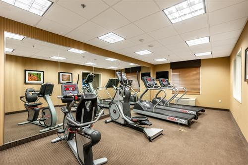 Come in and workout in our great fitness center