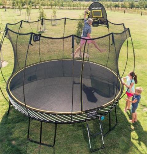 Built for safe backyard play