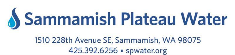 Sammamish Plateau Water