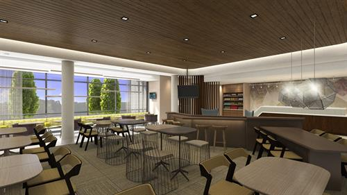 SpringHill Suites Lobby Area