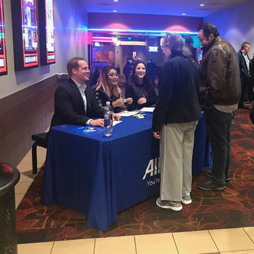 Customer Appreciation Movie Event at Regal Cinema Issaquah Highlands.