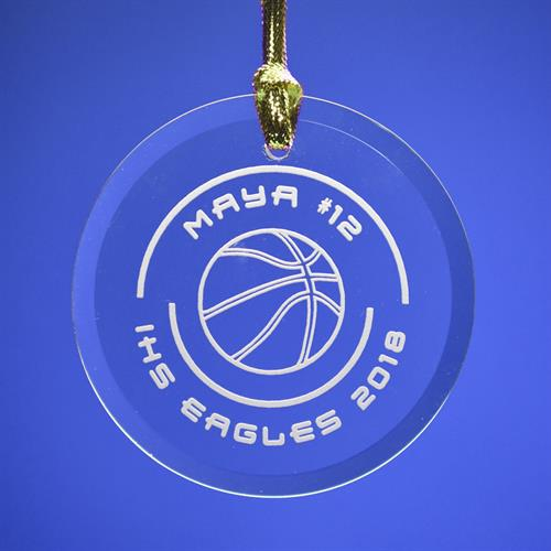 Ornament for IHS seniors basketball players.
