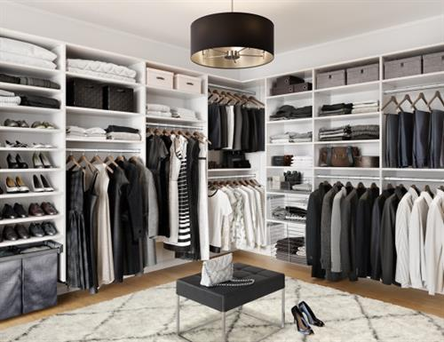Organize to optimize your closet