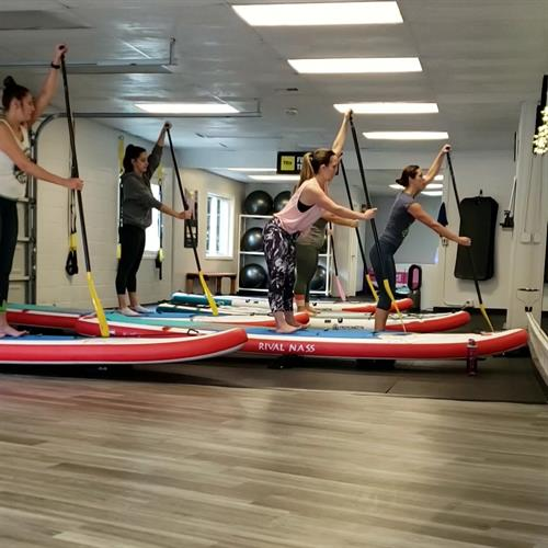 Indoor Stand Up Paddleboard Fitness