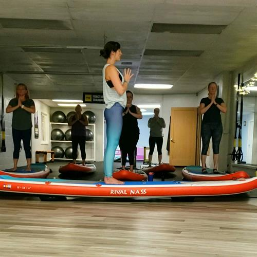 Indoor Stand Up Paddleboard Yoga