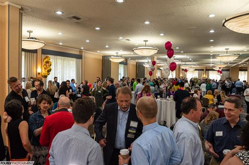 The Big Breakfast is a great opportunity to network with people in all industries.