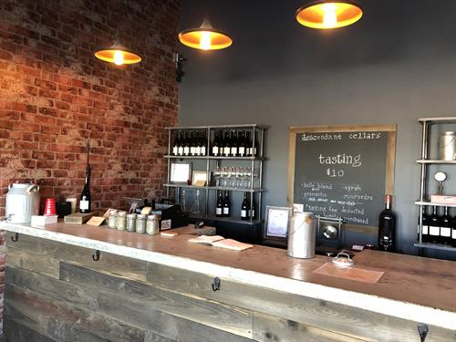 Tasting Room in Artisan Hill area of Woodinville Warehouse District