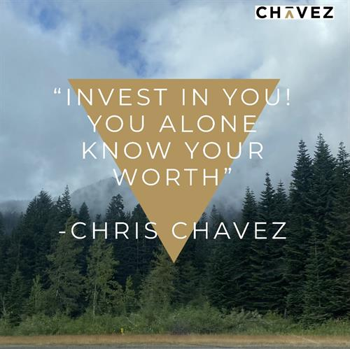 You know your own worth. Invest in the best stock possible....YOU!