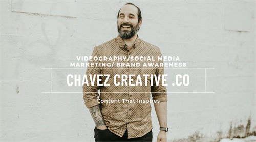 Visit www.ChavezCreative.co to learn more about how I can help your business.